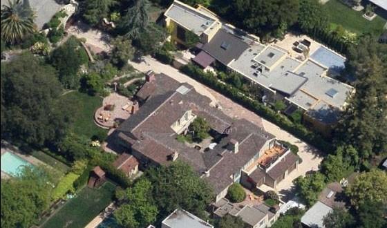 Mansão de Larry Page (Foto: Reprodução Google Street View)