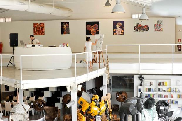 A Margot Jabbour Art Gallery, em Ibiza (Foto: Divulgação)