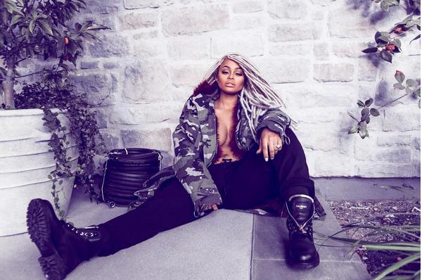 A celebridade Blac Chyna (Foto: Instagram)