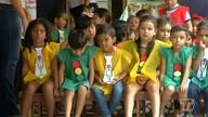 Crianças das Umei da Nova República recebem programação da Semana do Trânsito