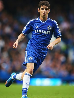 oscar chelsea x fulham (Foto: Getty Images)
