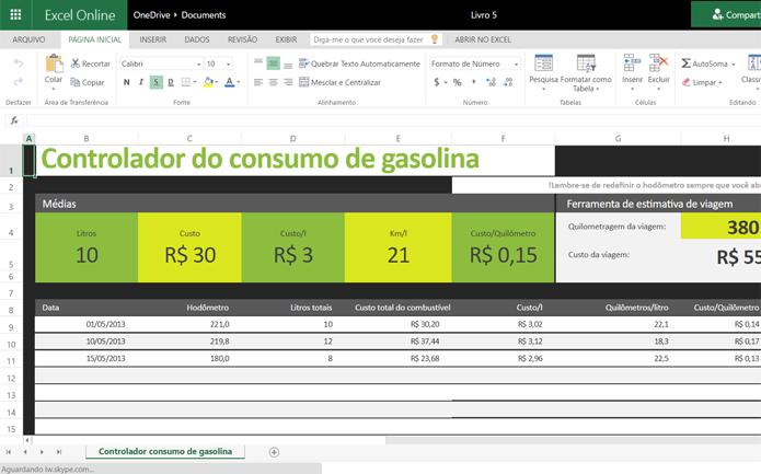 Online Excel Templates