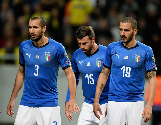 Chiellini, Barzagli e Bonucci (Foto: getty images)