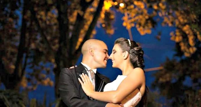 Taíne Camila Keller Rombaldi e Bruno Pinto Rombaldi, de Caxias do Sul (Foto: Arquivo Pessoal)