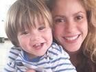Shakira fala de susto com o filho e agradece fãs: 'Tudo sob controle'