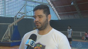 Saulo Cavalcante; Basquete; Amapá (Foto: Reprodução/Rede Amazônica no Amapá)