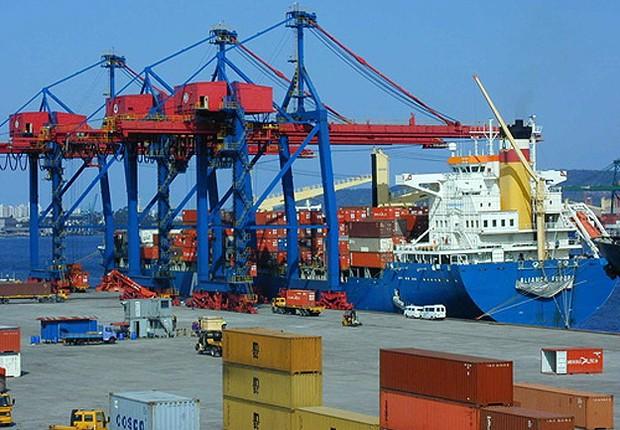 Porto de Santos (Foto: Divulgação)