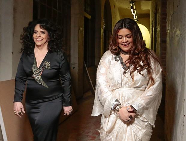 Preta Gil e Gal Costa (Foto: Rafael Cusato/Brazil News)