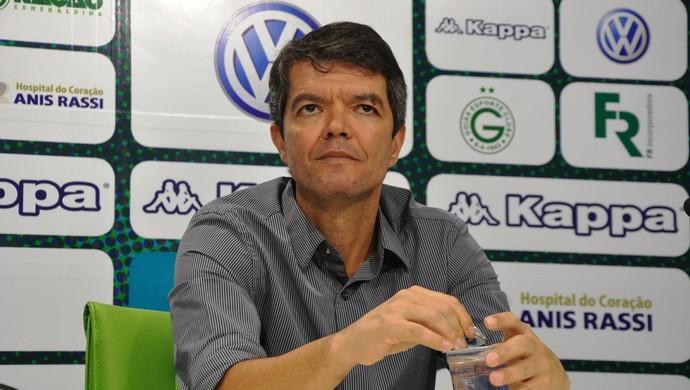 Felipe Ximenes, diretor executivo de futebol do Goiás (Foto: Guilherme Gonçalves/GloboEsporte.com)