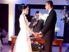 'Fiquei mais nervoso na igreja', diz candidato ao casar após Enem no RN