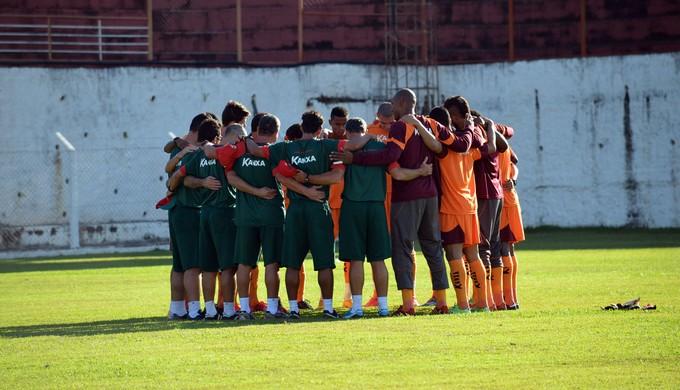 Contra o Mogi Mirim, lanterna Boa Esporte irá tentar a primeira vitória (Foto: Régis Melo)