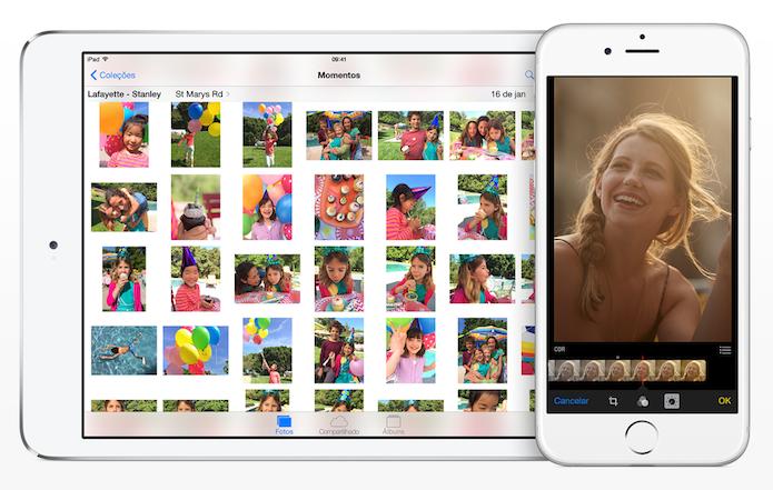 Como compartilhar momentos da biblioteca do iOS com o Facebook? (Foto: Divulgação/Apple)