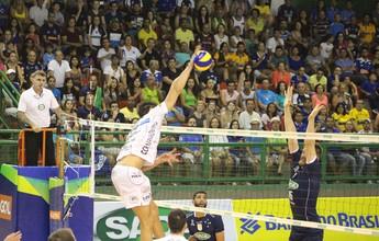 CSV divulga tabela do Sul-Americano de vôlei; Cruzeiro e Taubaté participam