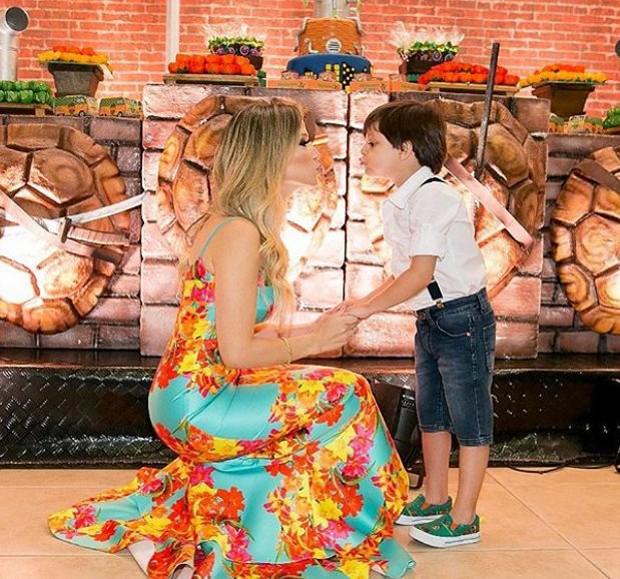 Festa de Bernardo, filho de Cristiano Araújo (Foto: Reprodução/Instagram)