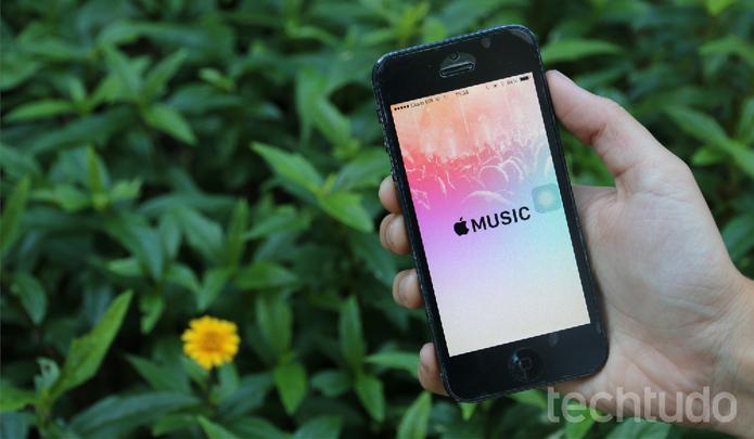 Apple Music chegou com o iOS 8.4 (Foto: Maria Clara Pestre/TechTudo) (Foto: Apple Music chegou com o iOS 8.4 (Foto: Maria Clara Pestre/TechTudo))