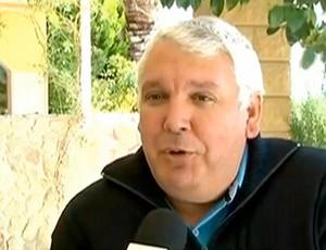 Edevasto Linfante é acusado por Cuenca de ser o verdadeiro mandante do crime (Foto: Reprodução SporTV)
