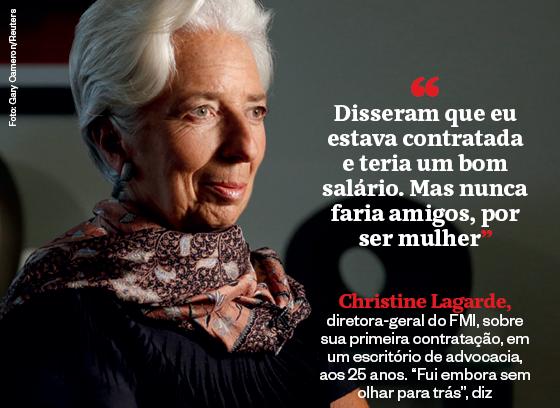 Frases que resumem a semana | Christine Lagarde (Foto: Gary Cameron/Reuters)
