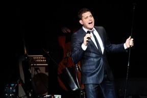 Michael Bublé se apresenta em São Paulo (Foto: Manuela Scarpa/ Photo Rio News)