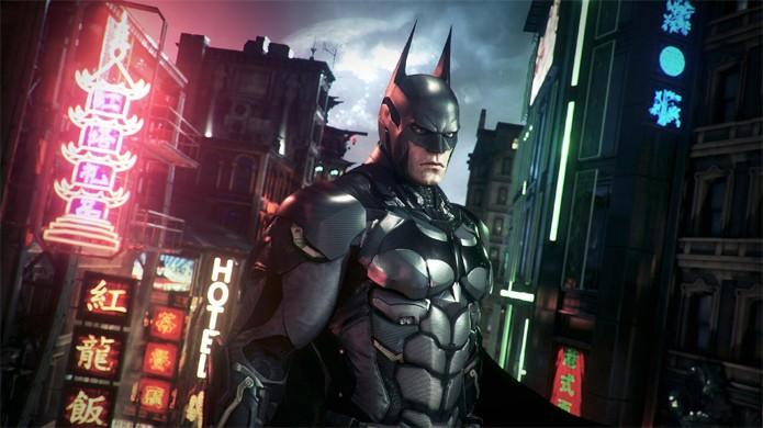 A armadura de Batman nunca esteve tão reluzente quanto no Xbox One e PlayStation 4 (Foto: Divulgação)