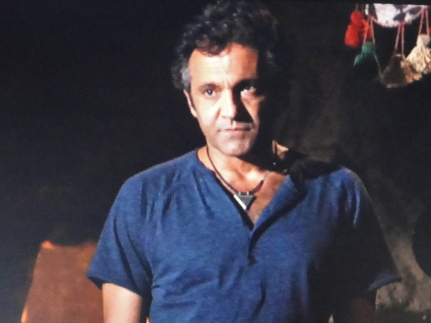 Zyah fica chateado de ter sido desmascarado (Foto: Salve Jorge/TV Globo)