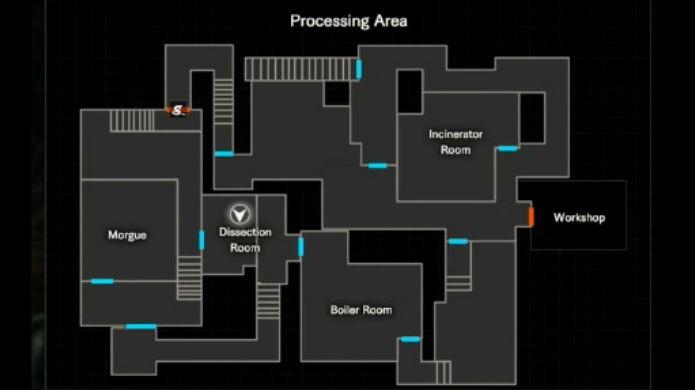 mapa completo resident evil 2 remake