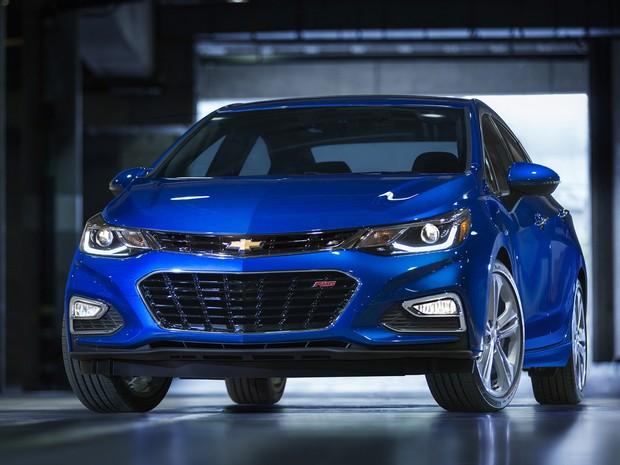 Novo Chevrolet Cruze chega aos EUA em 2016 (Foto: Divulgação)
