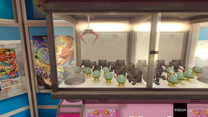 Máquina de brindes em Yakuza 0 (Foto: Reprodução/Felipe Vinha)