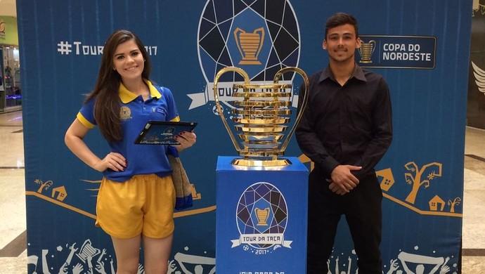 Taça da Copa do Nordeste, Campina Grande (Foto: Divulgação / Partage Shopping)