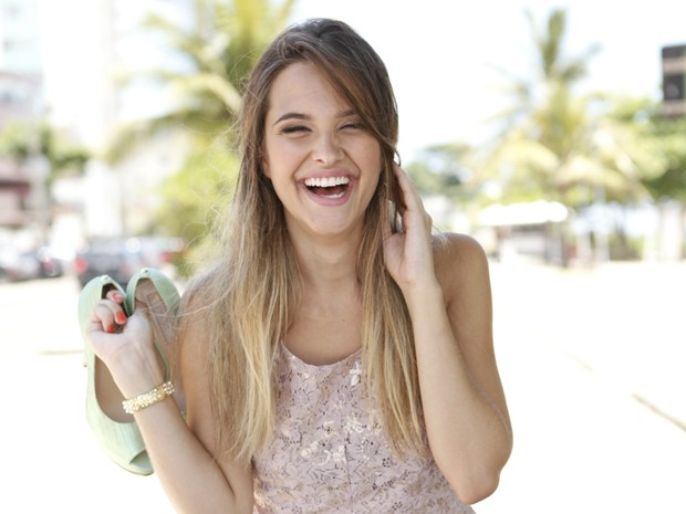 Juliana Paiva diz que ainda não está preparada para cenas de nudez: 'É preciso ter muita maturidade'  (Foto: Malhação / Tv Globo)