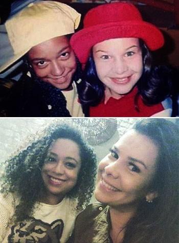 Aretha e Fernanda Souza (Foto: Reprodução/Instagram)