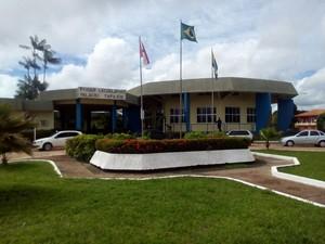 Câmara Municipal de Santarém (Foto: Weldon Luciano/G1)