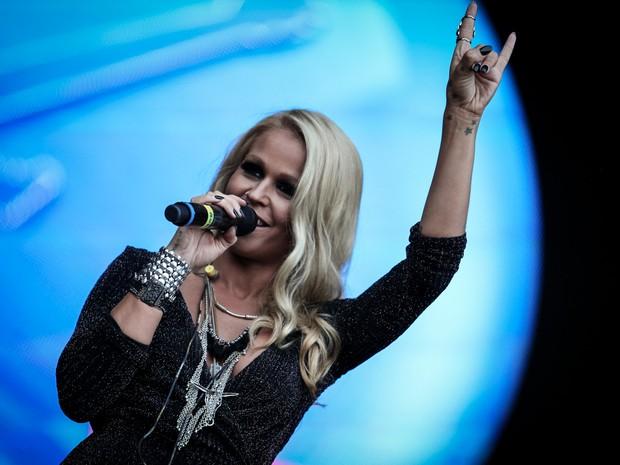 Aurea se apresenta no Palco Sunset no 7º dia de Rock in Rio (Foto: Fabio Tito/G1)