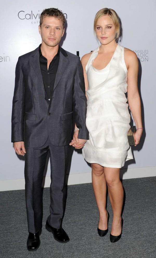 O ator Ryan Phillippe e a atriz Abbie Cornish (Foto: Getty Images)