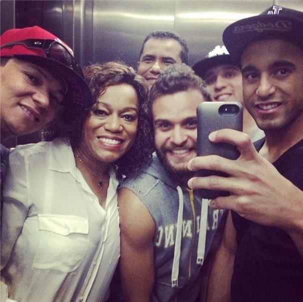 Lucas com amigos (Foto: Instagram / Reprodução)