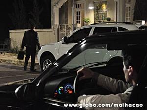 Abelardo segue o patrão até o Grajaú (Foto: Jacson Vogel / TV Globo)