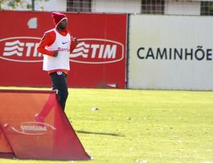 Fred treina no CT do Inter (Foto: Diego Guichard / GLOBOESPORTE.COM)