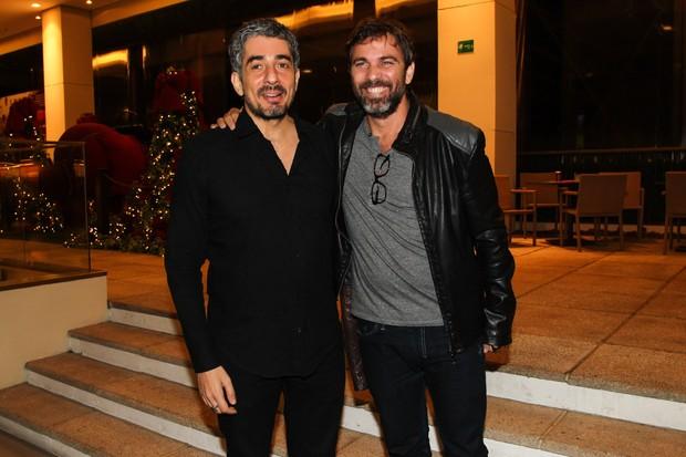 Michel Melamed e Marcelo Faria (Foto: Manuela Scarpa / PhotorioNews)