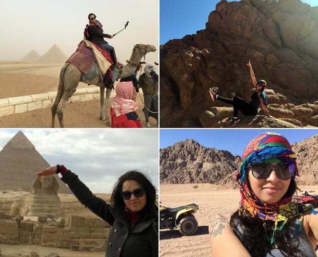 Ex-BBB tem viajado por diversos lugares com o projeto Sem Fronteira com Ariadna (Foto: Arquivo pessoal)