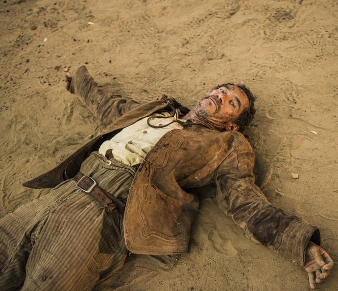 Belmiro morre assassinado por Cícero (Foto: Caiuá Franco/ Globo)