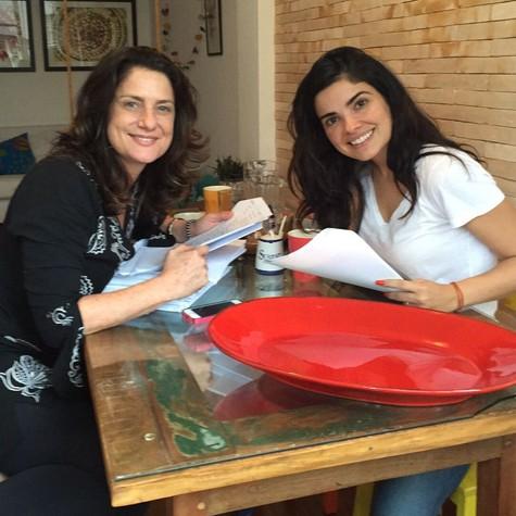Paloma Riani e Vanessa Giácomo (Foto: Gabriel Riani)