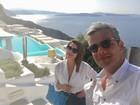 Flávia Alessandra e Otaviano curtem hotel com diárias de até R$ 6 mil
