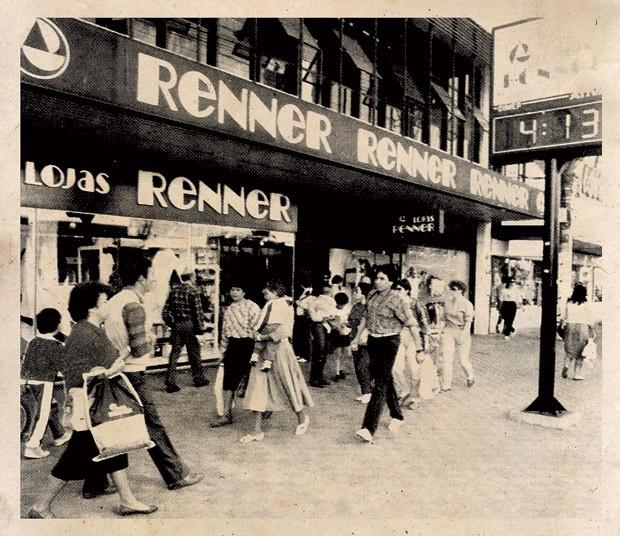 Empresa;Gestão;Renner;Já foi assim  Loja em Pelotas nos anos 70, quando o grupo só atuava no Sul e vendia de tudo: de móveis a eletrodomésticos. O conceito mudaria na década de 90 (Foto: Reprodução)