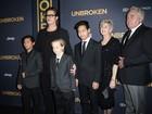Brad Pitt leva os filhos a première de filme nos Estados Unidos