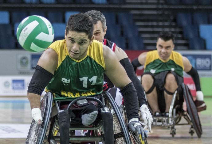 Júlio Cézar, evento-teste rúgbi em cadeira de rodas (Foto: Daniel Zappe/MPIX/CPB)
