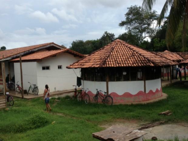 A Casai, em Macapá, foi construída em 2005 e possui capacidade para 100 índios (Foto: Abinoan Santiago/G1)