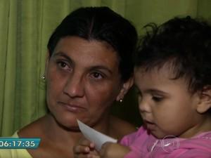 Sila Cavalcante de Souza, viúva de Raimundo Barbosa dos Santos (Foto: TV Globo/Reprodução)
