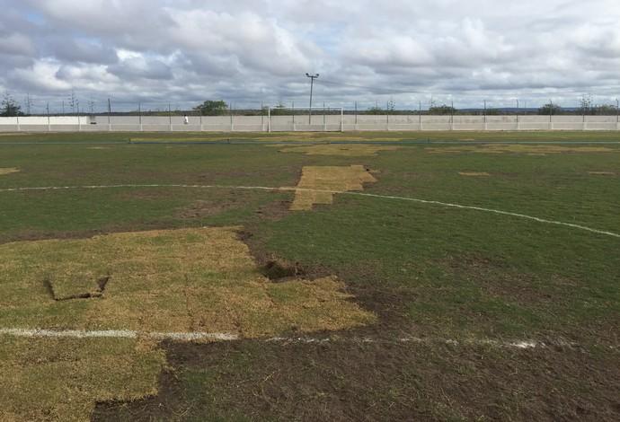 estádio galdinão, pocinhos, vistoria (Foto: Divulgação / FPF)