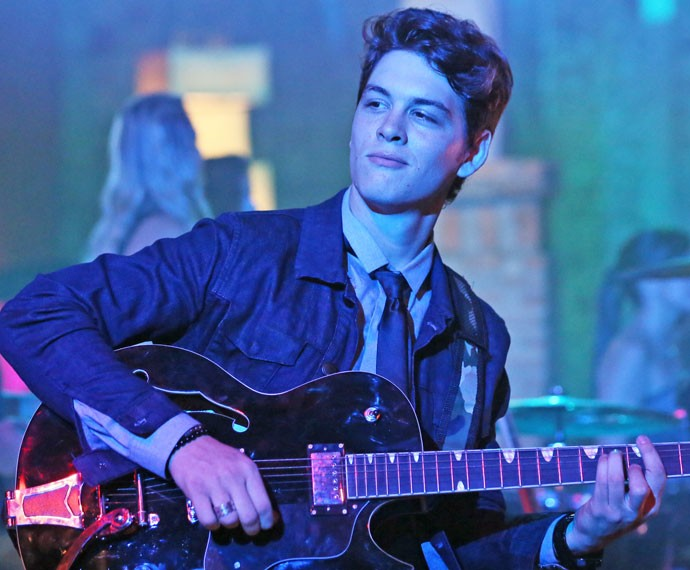 João é vocalista da banda Desatinados (Foto: Isabella Pinheiro/Gshow)
