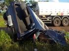 Homem morre e família fica ferida após batida entre carros