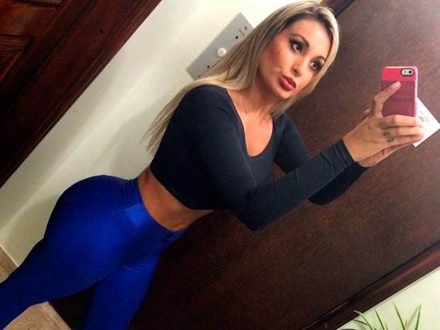 Andressa Urach está hospitalizada em Porto Alegre (Foto: Reprodução/instagram)
